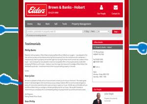 real estate testimonials page