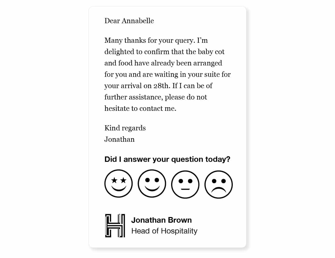 responsive email signature example