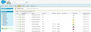 generate Salesforce Case satisfaction ratings