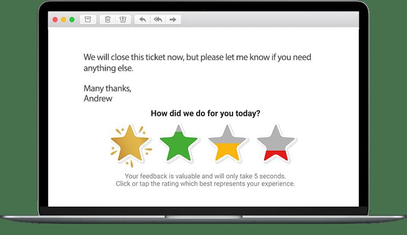 salesforce customer survey satisfaction example