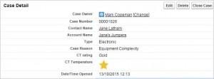 salesforce email survey case
