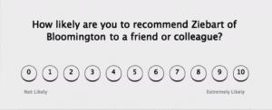 short customer survey example ziebart