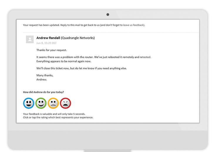 A smiley face survey template Customer Thermometer – Customer Survey Template