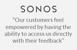 Sonos - another happy Customer Thermometer customer