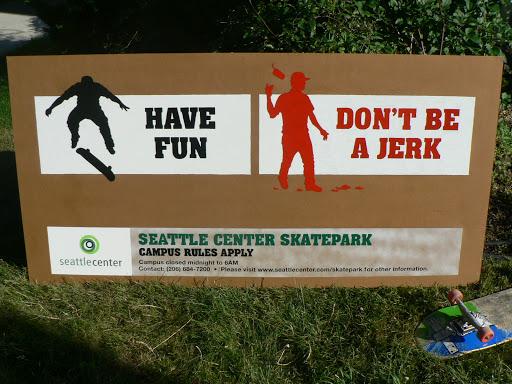 Seattle skate park