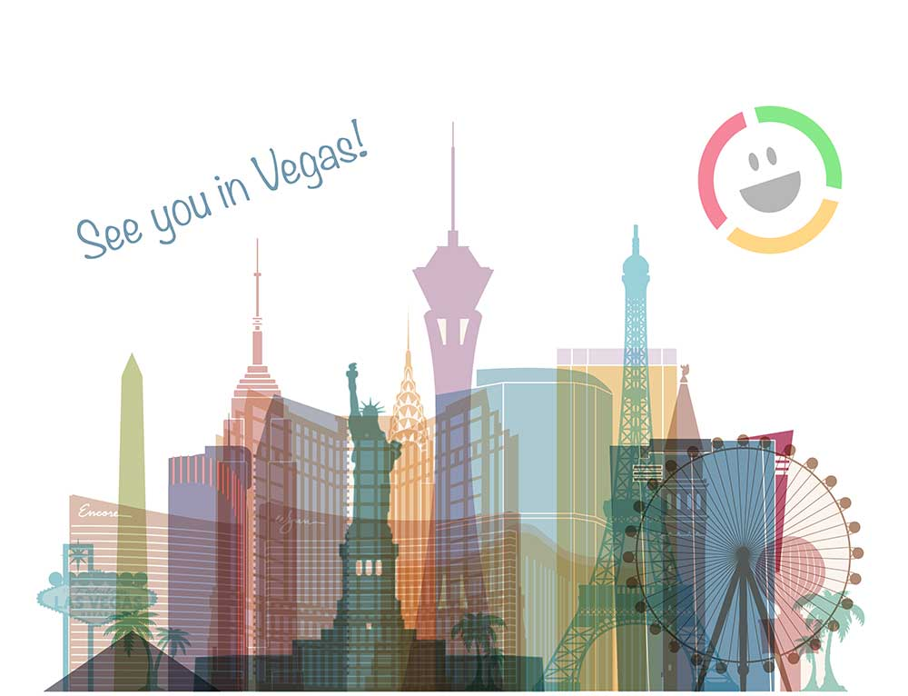Vegas postcard