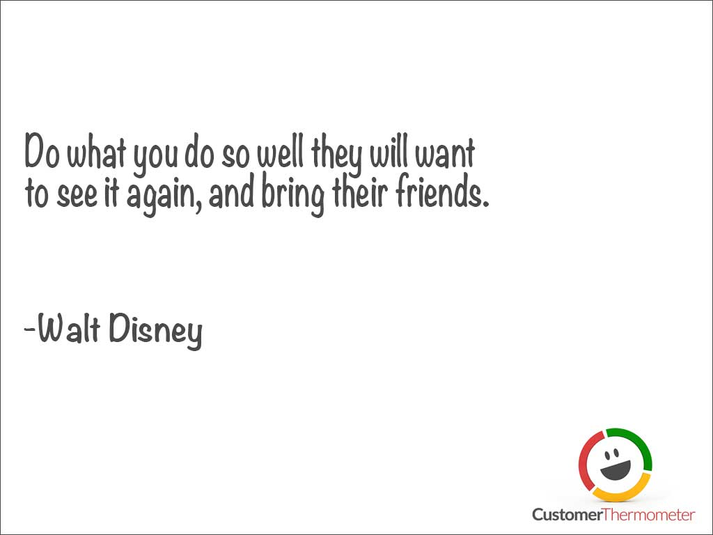 Walt Disney customer service quotes images