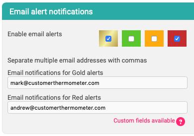 Click alerts