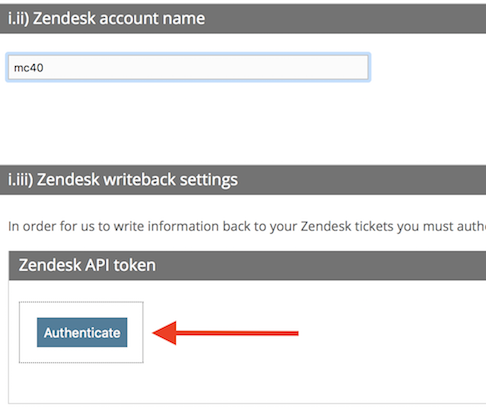 Writing back responses into Zendesk tickets - Customer