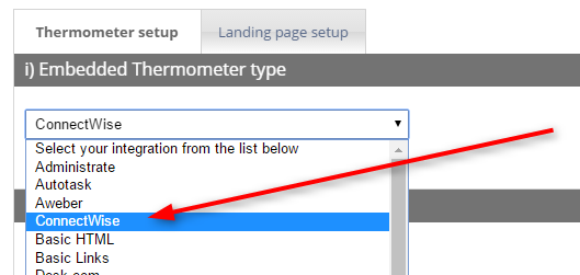 Learn How to Create a ConnectWise Thermometer Survey - User-Guide